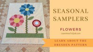 Seasonal Samplers DRESDEN FLOWERS