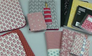 Journal Covers from Fabric Scraps