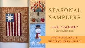 Seasonal Sampler FRAME