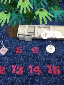 Advent Numbers on Tags