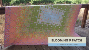 Blooming Nine Patch