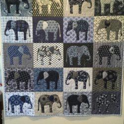 Blue Elephant Quilt