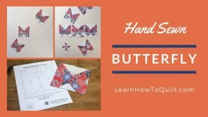 Hand Sewn Butterfly