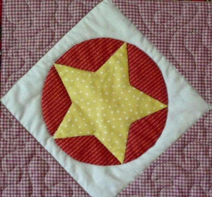 Circle Star - Red Sampler