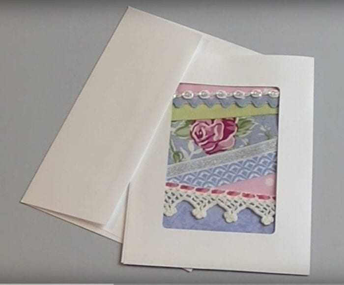 Crazy Quilt Card Project