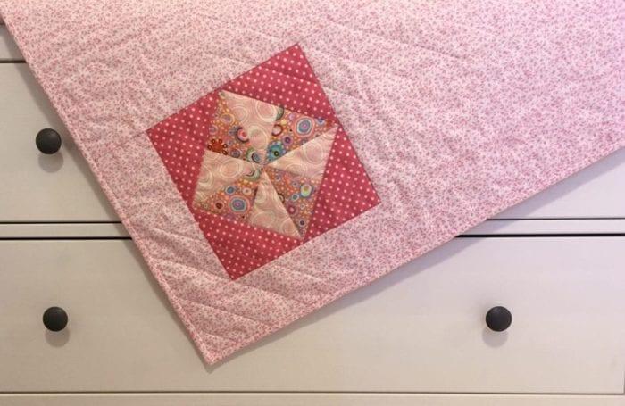 One Block Baby Quilt