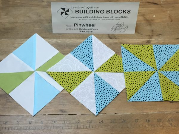 Three Pinwheels