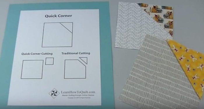 Sample of 1 Quick Corner