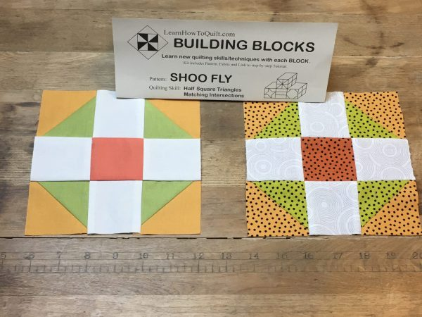 Two Shoofly Blocks
