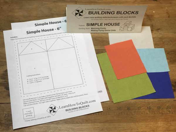 Fabric for Simple Houses