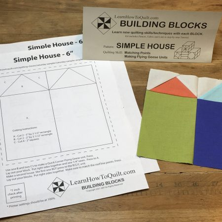 Simple Houses Pattern