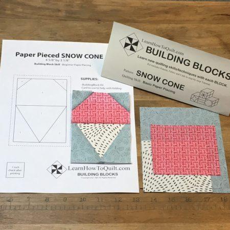 Building Blocks Snow Cone Kit