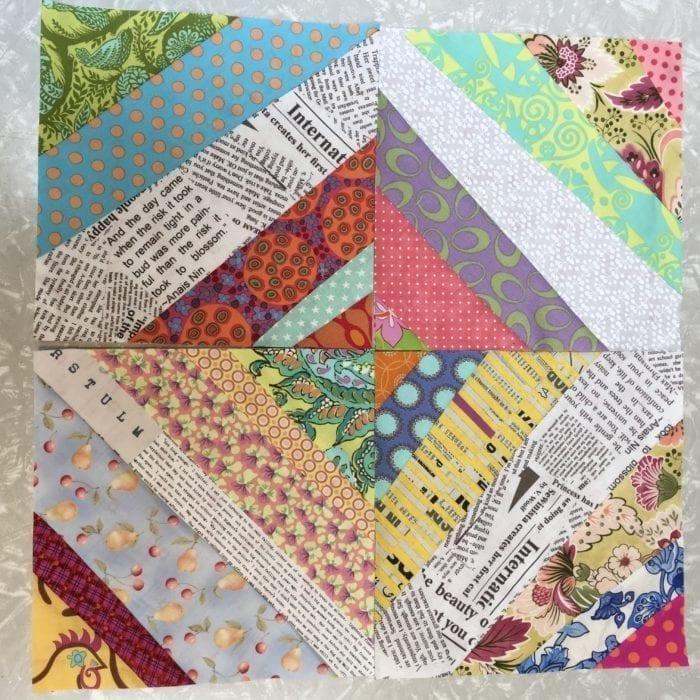 Bright String Quilt Blocks
