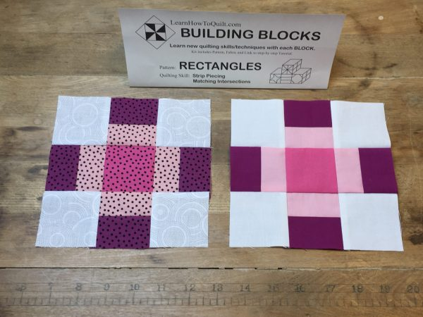 Two Rectangle Blocks