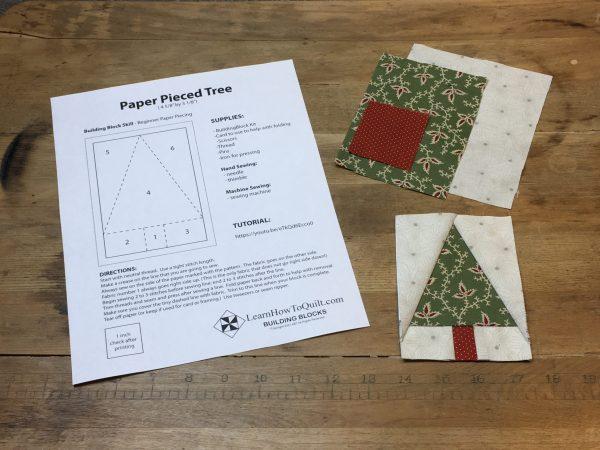 Paper Pieced Tree Kit