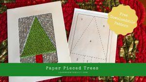 Paper Pieced Tree