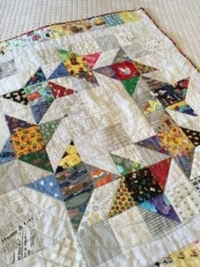 Wreath Star Quilt