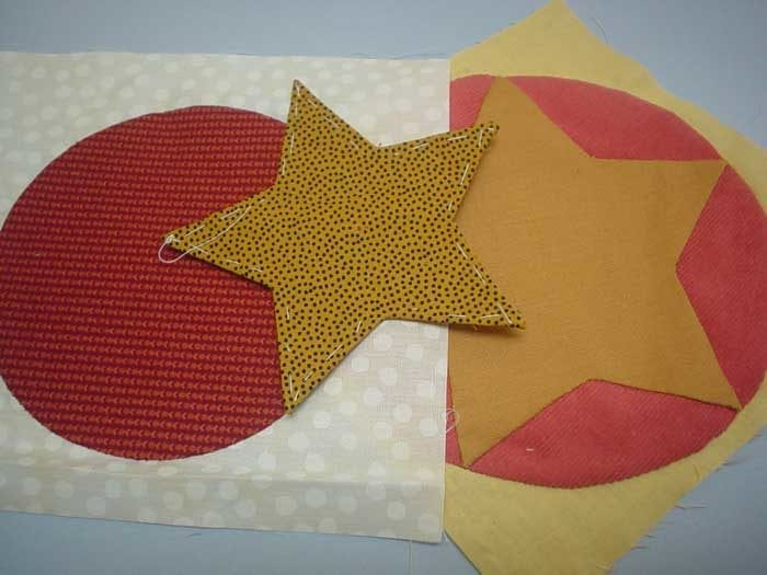 Circle Star Applique