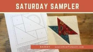 Basket for Saturday Sampler