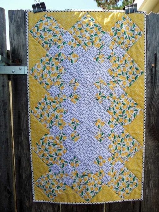 Lemon Blooming Nine Patch Learn How To Quilt Com