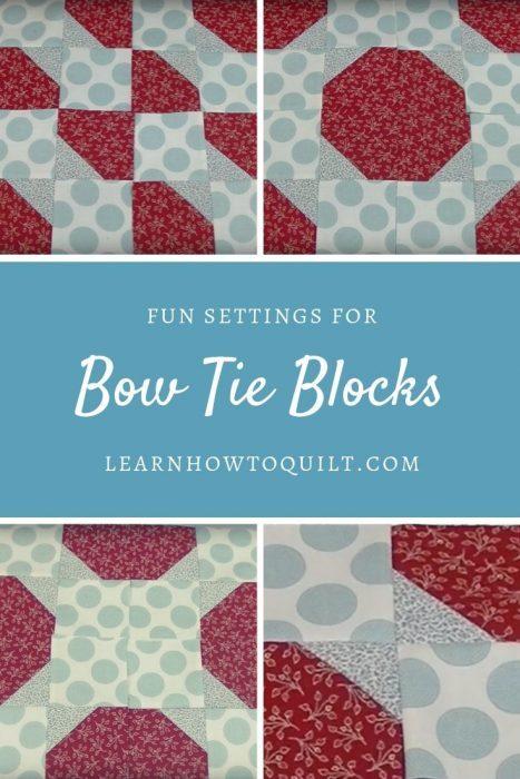 Bow Tie Blocks