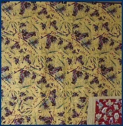 log star quilt