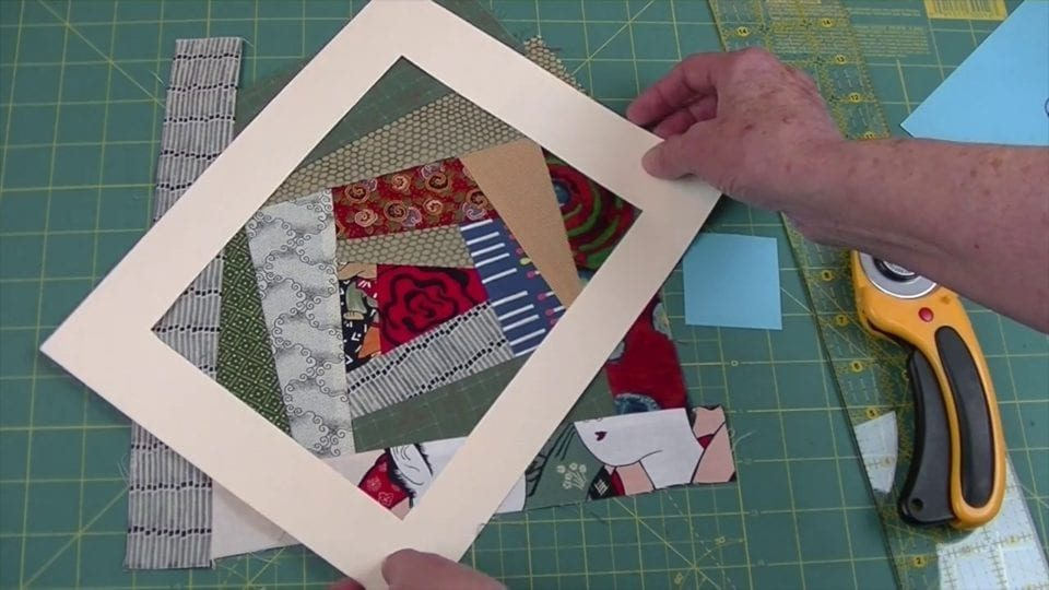 Crazy Quilt - Sewing Sections