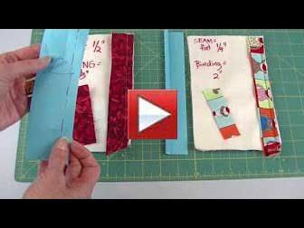 double fold binding - how wide