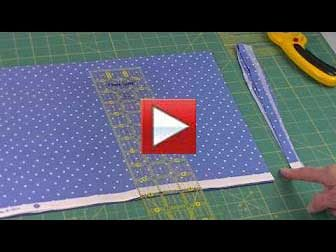 double fold binding, rotary cutting