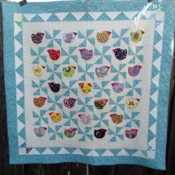 "Fat Chicks ""I Spy"" Quilt"