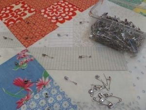finishing the quilt