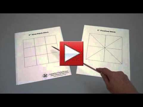 Video thumbnail for youtube video Grids - LearnHowToQuilt.com - Quilting Encyclopedia and Tutorials