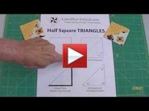 Intro to half square triangles