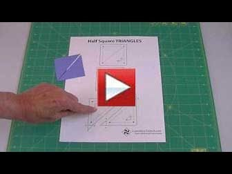 Why half square triangles require you to add 7/8