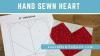 Hand Sewn Heart