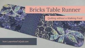 Quilting Without a Walking Foot