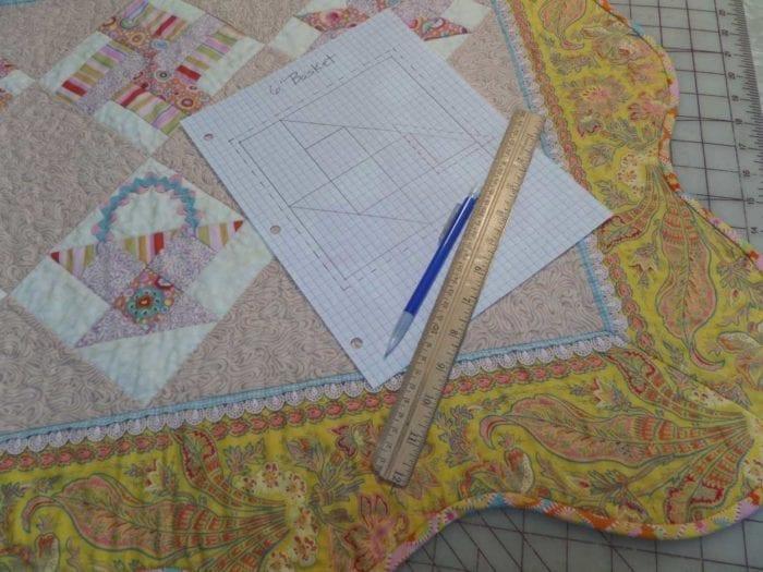 making quilt patterns