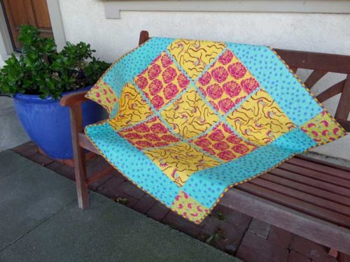 party quilt-as-you-go