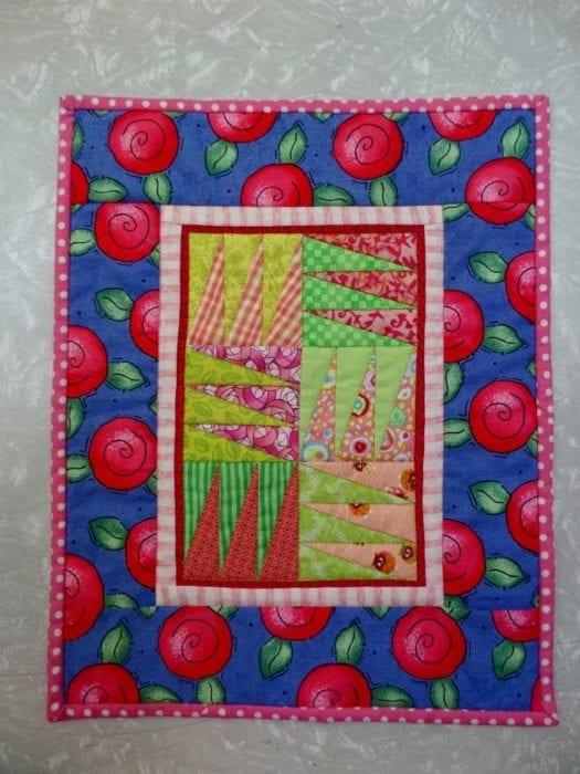 paper piecing pennants