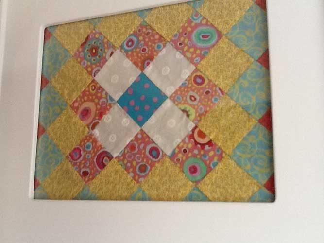 piecing quilt blocks