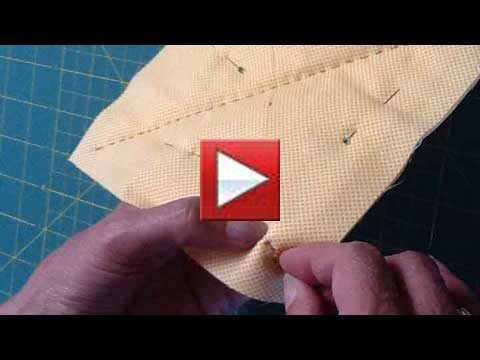 sewing block by hand
