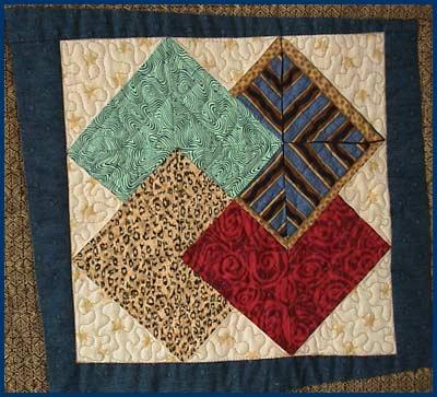 sampler card quilt