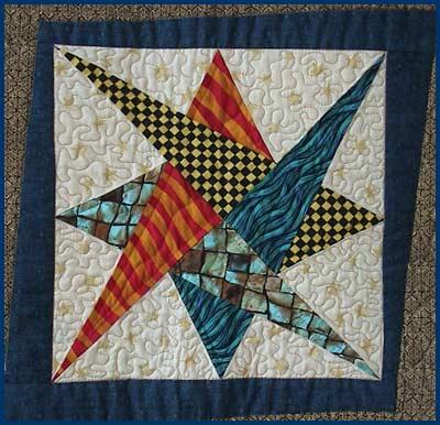 sampler interlace quilt