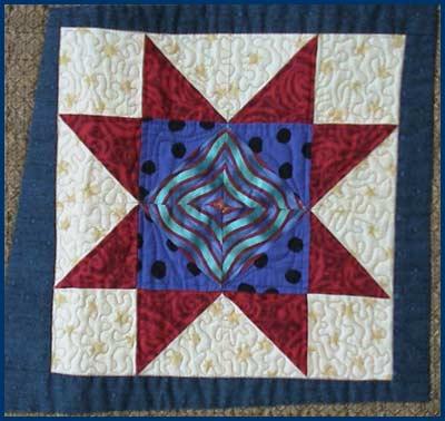 sampler star quilt