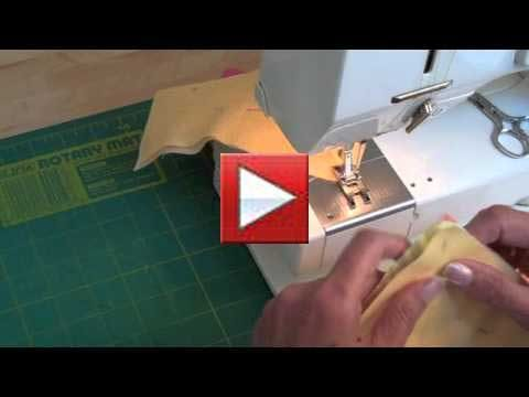 sewing square using machine