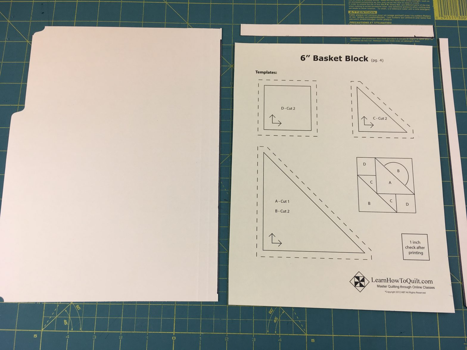making templates from folders
