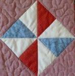 Pinwheel Quilted